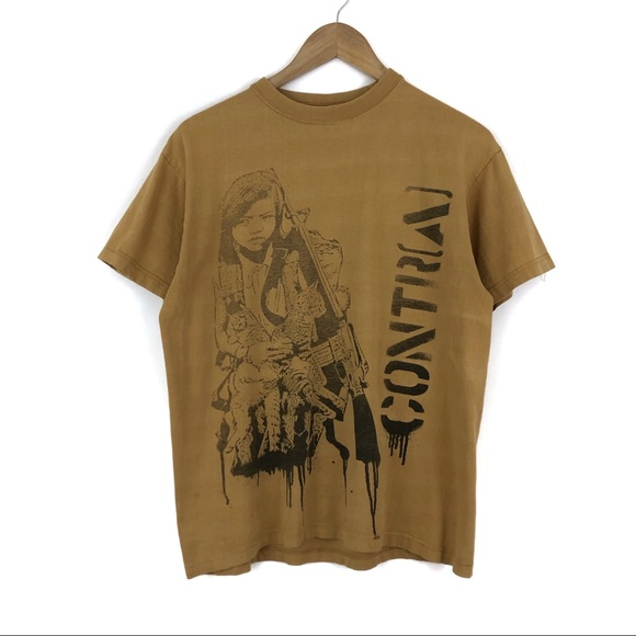 Vintage Other - Vintage Contra Mustard Shirt / Medium
